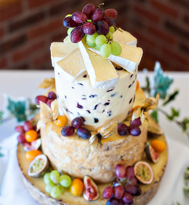 Ideas para el menú de bodas. Tarta original