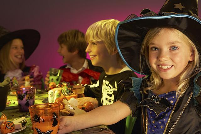 Catering para fiesta de Halloween