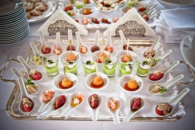 Menús para bodas en Navarra