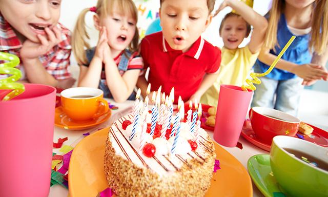 Catering de meriendas para fiestas infantiles