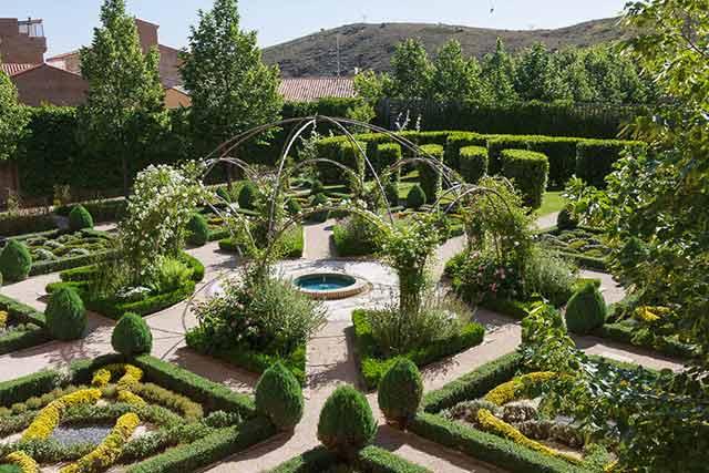 Los jardines propiciarán unas buenas fotos del evento