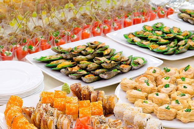 catering tapas buffet