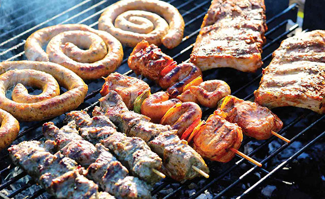 La carne no puede faltar en una reunión familiar