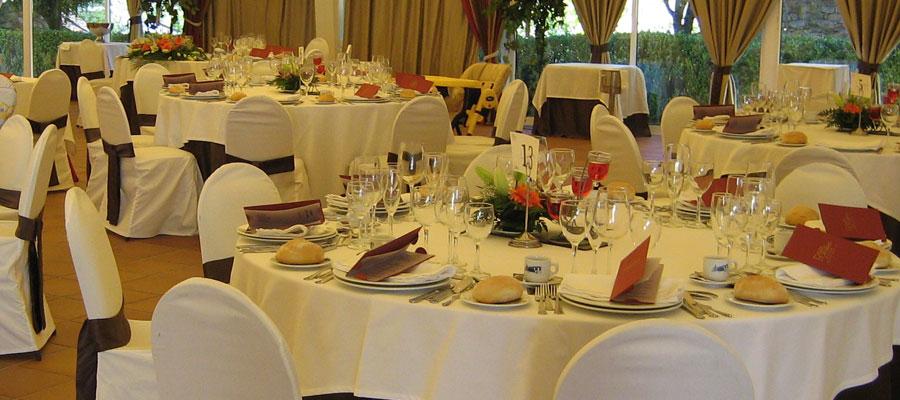 Decorar banquete boda con bodegones