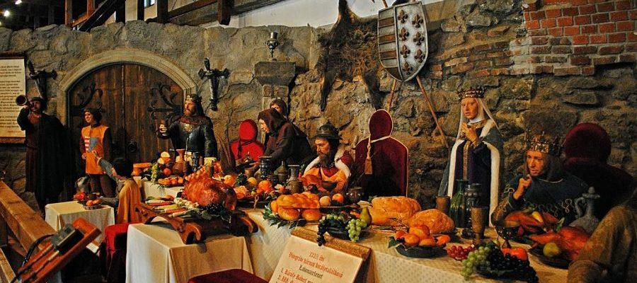cena del medievo