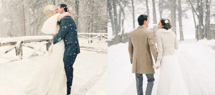 boda invernal