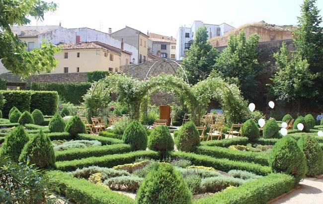 espacio jardines