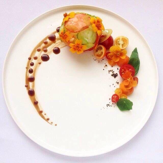 T cnicas b sicas para presentar los platos en el servicio for Tipos de platos