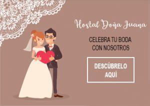 Celebra tu boda en Hostal Doña Juana con Amantel Catering