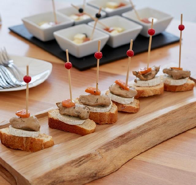 productos de calidad en catering